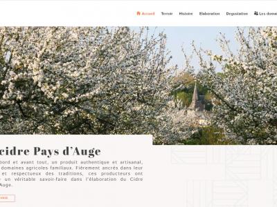 Nouveaux environnements numériques et sociaux pour le cidre Pays d'Auge et le Poiré Domfront